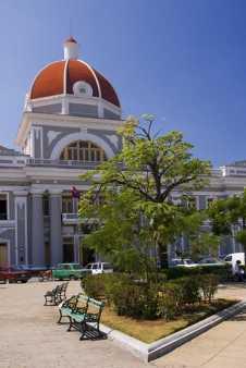 Cúpula del Palacio de Gobierno desde otro ángulo