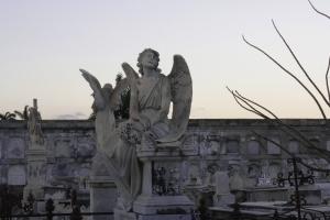 Cementerio de Reina, historia viva en el mármol
